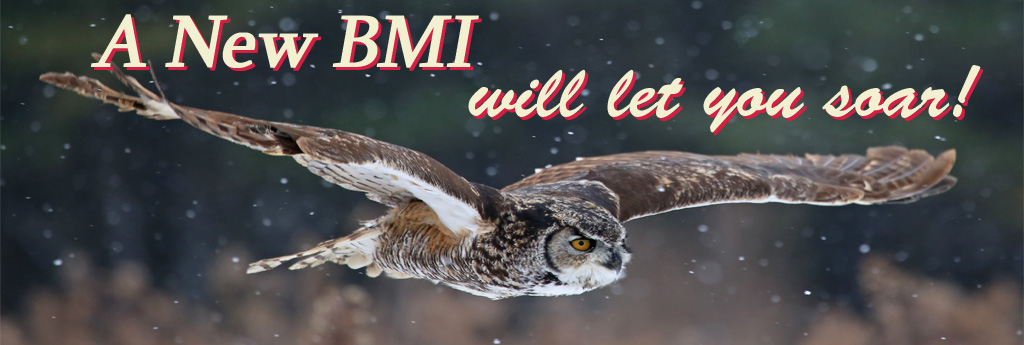 A New BMI lets you soar!